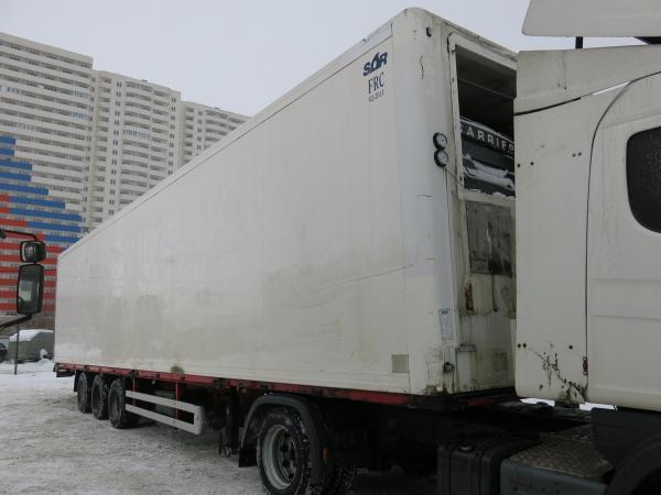 Разборка полуприцепов фургон изотермический SOR, 2008