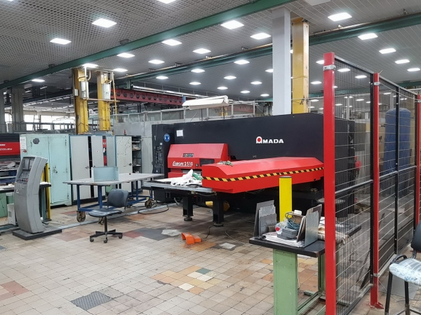 Прессы:BalTec;MP10-30;AMADA EUROPA 2510;A55S FINN-POWER A;PMP30 с ЧПУ