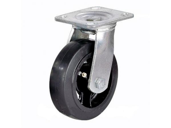 Колесо большегрузное обрезиненное поворотное Scd42