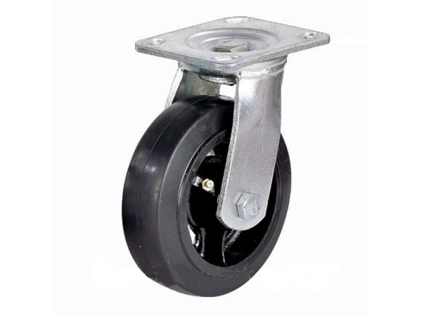 Колесо большегрузное обрезиненное поворотное Scd55