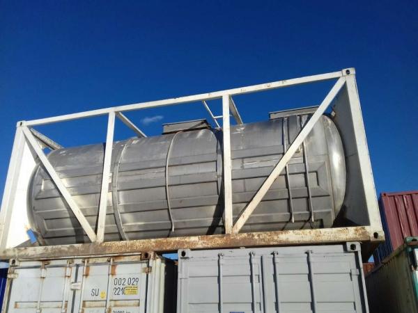 Продается танк-контейнер 21 куб.м. б/у