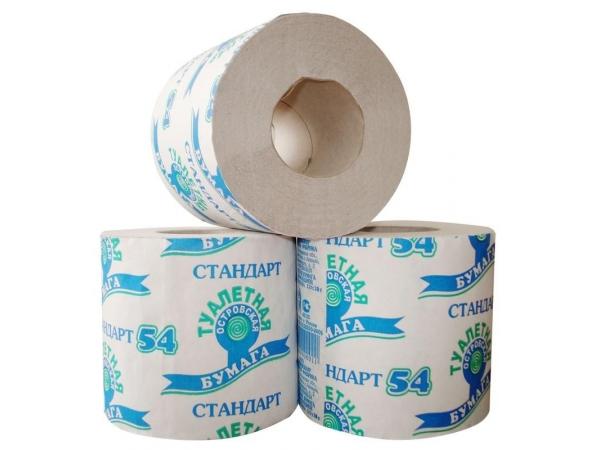 Туалетная бумага Мягкий Знак 54м