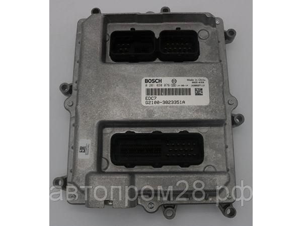 Блок управления двигателем Yuchai 0281020076 (EDC7 G2100-3823351A)