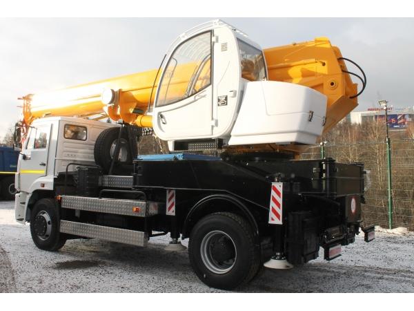Автокран КС-55744 на шасси КАМАЗ 53605