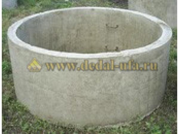 Кольцо бетонное 20.6 с пазом
