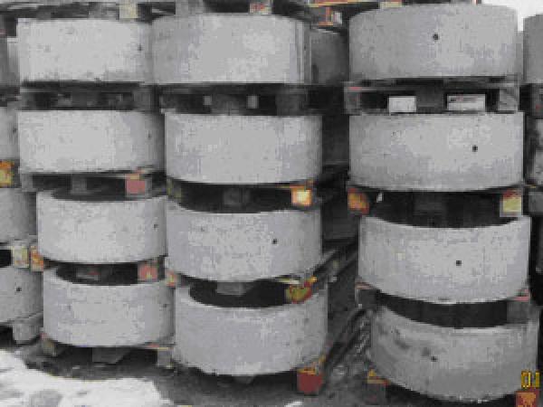 Кольцо бетонное КС 7.6 с пазом
