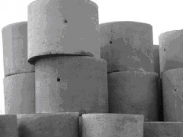 Кольцо бетонное КС 10.6 с пазом
