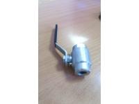 Кран шаровой Ду15 Ру80 стальной муфтовый (DN 1/2 A105/800)