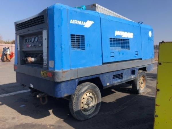 Воздушный дизельный компрессор Airman PDS390S
