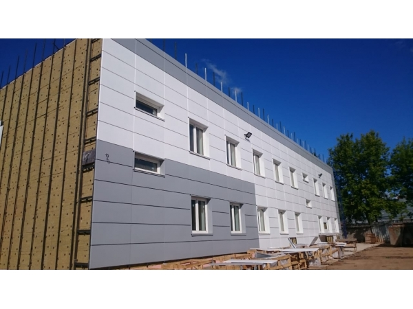 В СПб. и обл.выполним монтаж навесных вентилируемых фасадных систем.