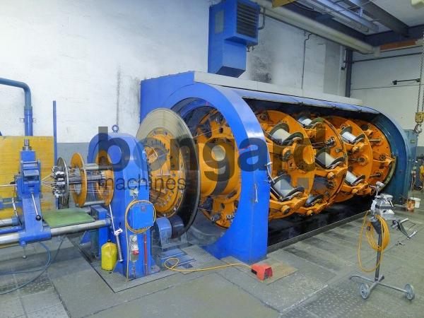 Крутильная машина клетьевого типа с реверсом SKET 1+36x560 10975