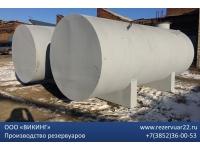 Резервуар горизонтальный стальной РГС 15м3