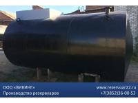Резервуар горизонтальный стальной РГС 25м3