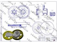 Редуктор (передаточный механизм) дробилки ДДЗ-4 и запчасти