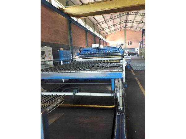 полная линия для производства строительной стальной сетки 11058