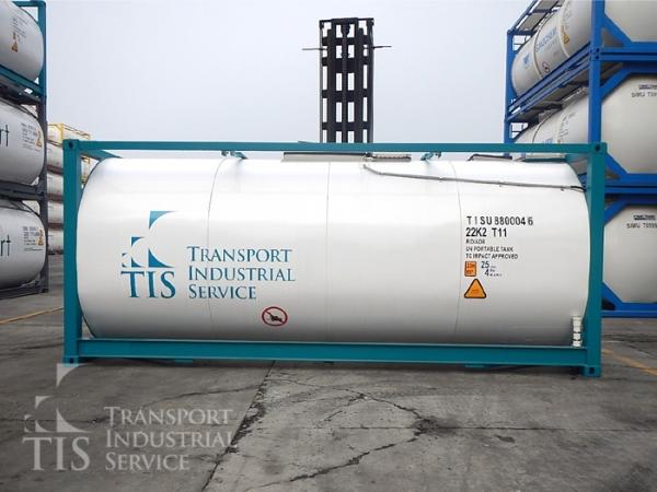 Танк-контейнер, цистерна 21 куб, T11