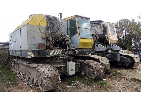 Монтажные гусеничные краны в Севастополе.