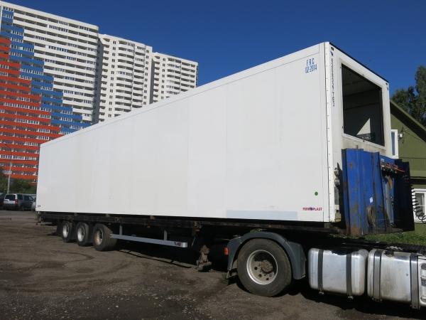 Фургон изотермический Schmitz полурамный мультитемпературный