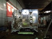 Упаковка станков в металлизированную барьерную пленку NR-M