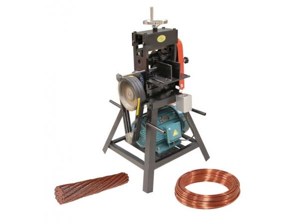 DX-120 станок для зачистки проводов от изоляции, Ø 10-120 мм, 4 кВт,