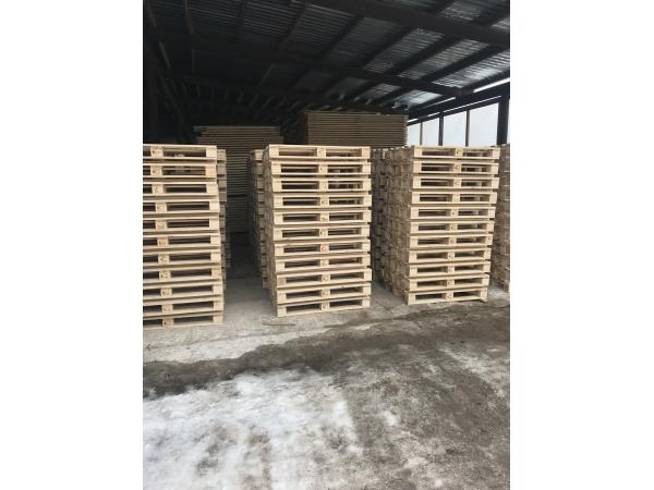 Деревянные европаллеты 1200х1100 мм
