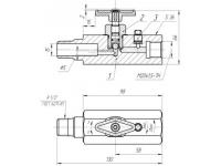 Вентиль  манометрический ВМ 1Б 5х35