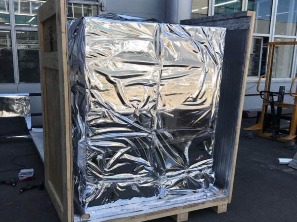 Фольгированная упаковочная пленка для оборудования и техники