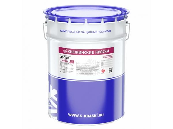 Эмаль полиуретановая  СК-Пур антикоррозионное покрытие для защиты рез