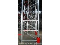 Рама сборная вертикальная П 90 для стеллажей