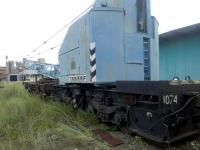 Продам кран железнодорожный ЕДК 80/3