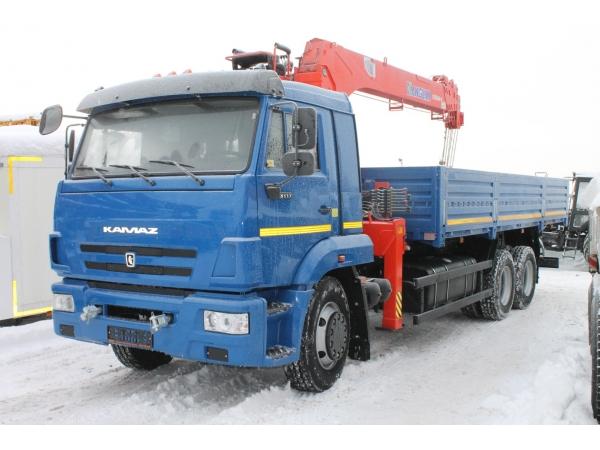 КАМАЗ 65117 с манипулятором КМУ KANGLIM (новый)