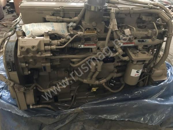 Двигатель в сборе Cummins QSL9 CM850 (ОРИГИНАЛ)