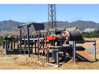 Магнитный барабан для сепарации крупных материалов CTGG-0818