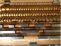 Набор концевых мер длины 0.5 - 100 мм