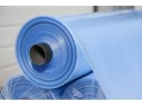 Плёнка полиэтиленовая укрывная синяя 80мкм., 3м*100м.