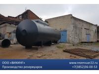 Резервуар стальной двустенный РГСД