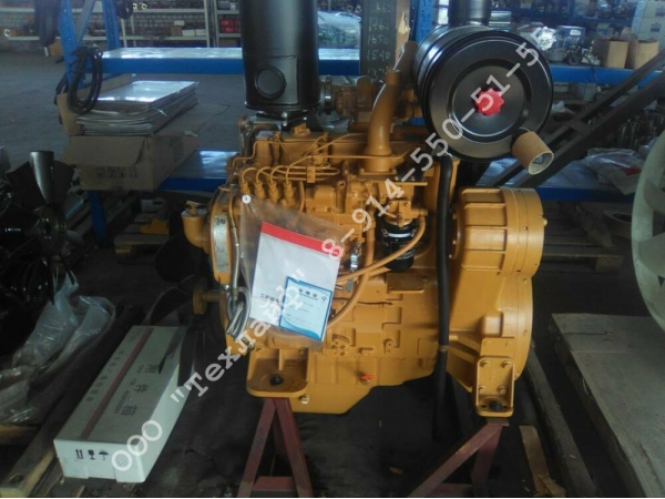Двигатель Shanghai SC5D125G2B1 (он же D4114)