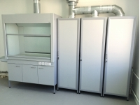 Шкаф вытяжной ШВ-202КГОТ лабораторный химический