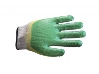 Перчатки х/б с двойным латексным покрытием утеплённые.