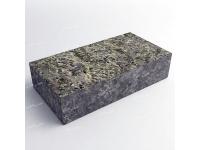 Полнопиленная брусчатка из лабрадорита 200х100х30 мм