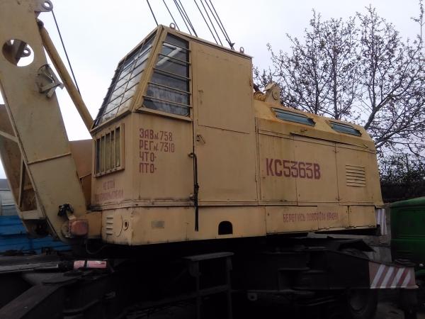 Аренда монтажных кранов МКГ на гусеничном ходу гп 25 - 40 в Крыму