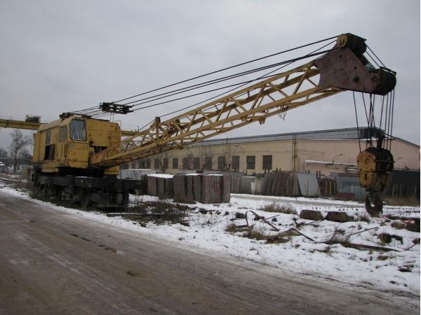 Продается кран на железнодорожном ходу КЖДЭ-25. Год выпуска 1993.