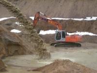 Песок намывной мелкий на самовывоз. От производителя.
