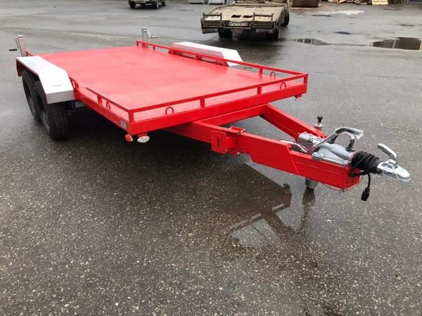 Автомобильный прицеп 71491 для перевозки спец техники до 3х тонн