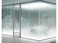 Пескоструйное матирование стекла и зеркала