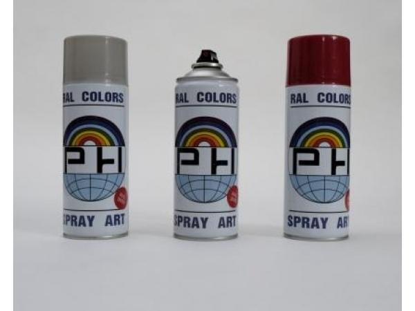 Акриловая аэрозольная краска для профнастила матовая