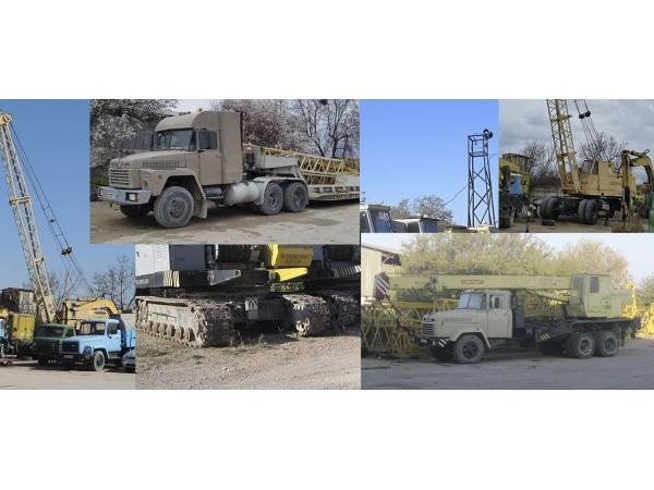 Аренда строительной техники в Крыму и Севастополе.