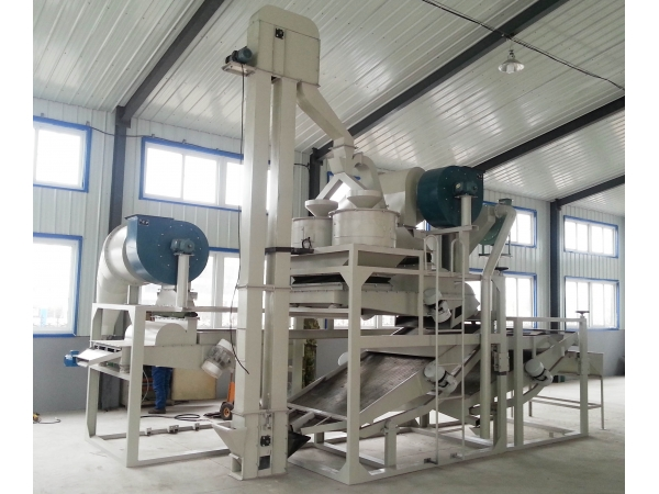 Оборудование для переработки семян конопли HDM500 (300кг/ч)