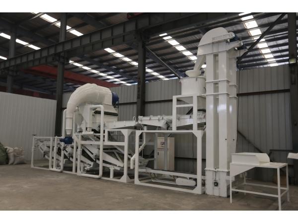 Линия для шелушения семян подсолнечника типа TFKH2000 (1300кг/ч)