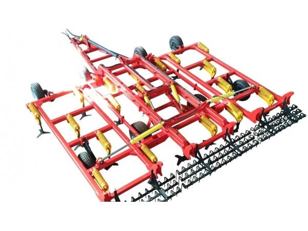 Культиваторы стерневые тяжелые КСТ с пружинной защитой от 4 до 9 метра